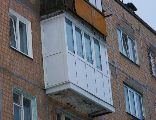 """НЕ ДОРОГО Балкон под ключ (расширение,крыша,отделка внутри) """"АКЦИЯ"""""""
