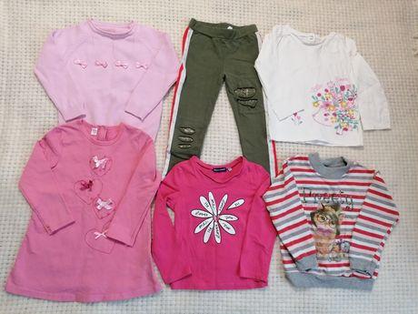 Пакет вещей 92-98 3 набор одежды девочки chicco ido gap next benetton