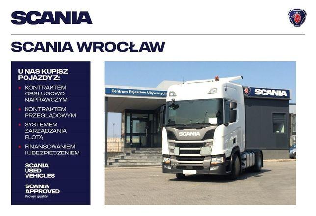 Scania R410A4X2NA  R410 NTG Hydraulika Bogate Wyposażenie!!!