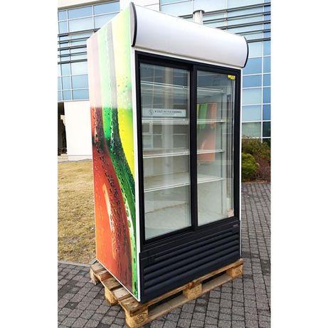 Witryna chłodnicza KLIMASAN S1200 regał lada agregat wewnętrz
