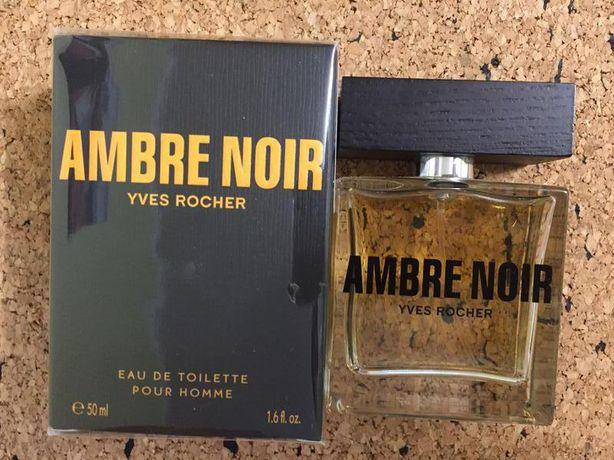 Туалетная вода ambre noir от Yves Rocher 50 мл Франция