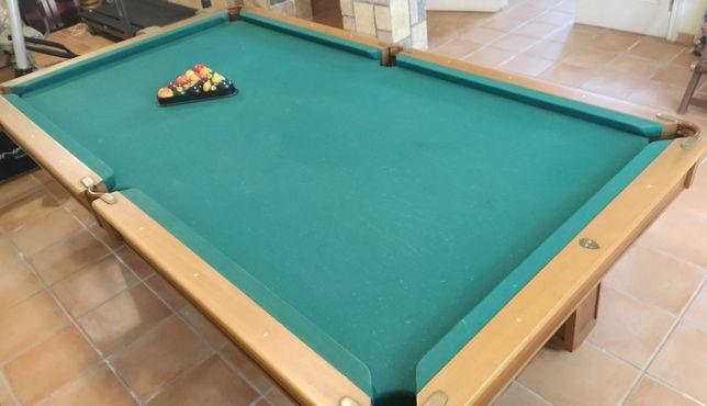 Mesa de Snooker madeira de faia