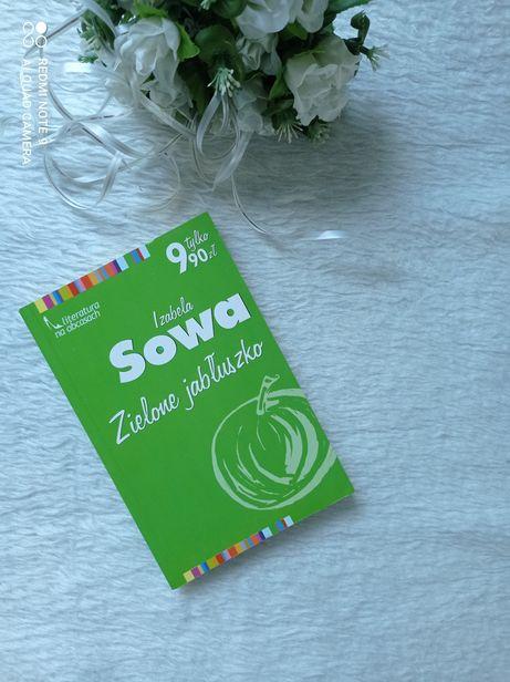 Książka Zielone jabłuszko Izabela Sowa stan bdb