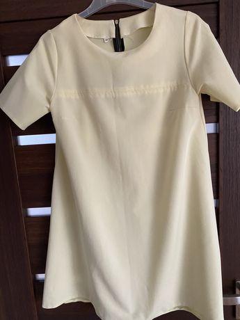Sukienka żółta r.38