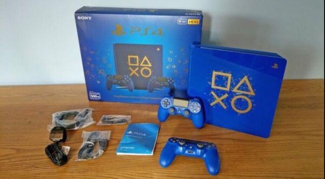 """Sony PS4 PlayStation 4 Slim """"Days Of Play Edition"""" 5.07 Odbiór/Wysyłka"""