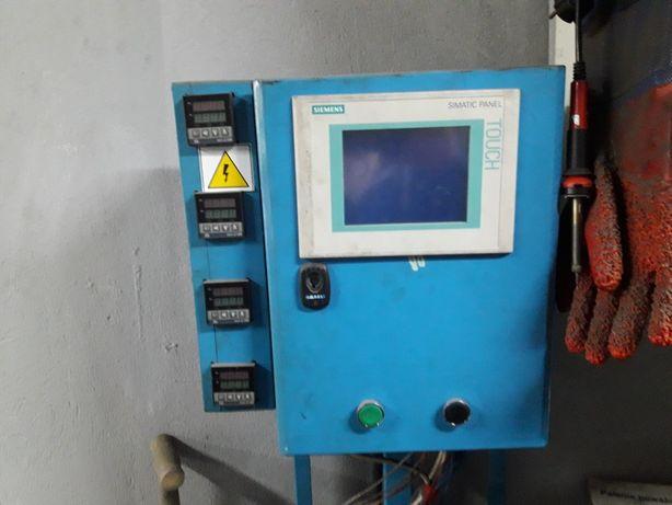 Wtryskarka, agregat hydrauliczny, panel  siemens, s7-200 cpu-224 prasa