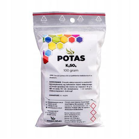Sprzedam nawóż do roslin akwariowych POTAS - K2SO4 100 g (CZYSTY O 9