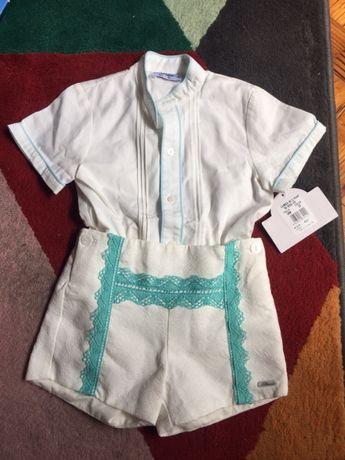 Camisa e calção 30 meses marca , Miranda