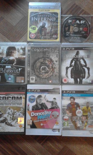 witam mam na sprzedasz 8 gier na ps3 lub zamianę