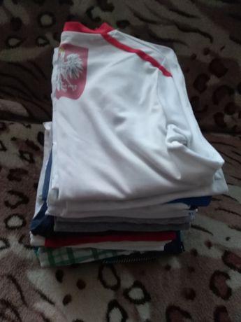 Paka dla chlopaka bluzki,spodenki, koszulki