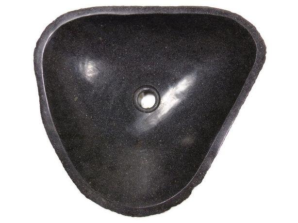 Umywalka Kedora nablatowa z kamienia rzecznego