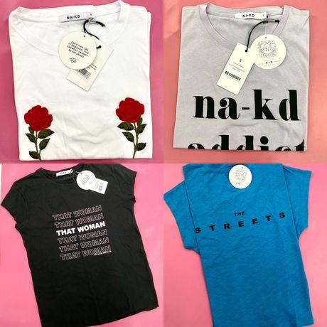 Сток опт футболки топи блузи NA-KD
