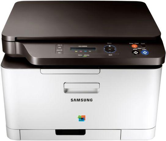 Цветное лазерное МФУ Samsung CLX-3305W c Wi-Fi