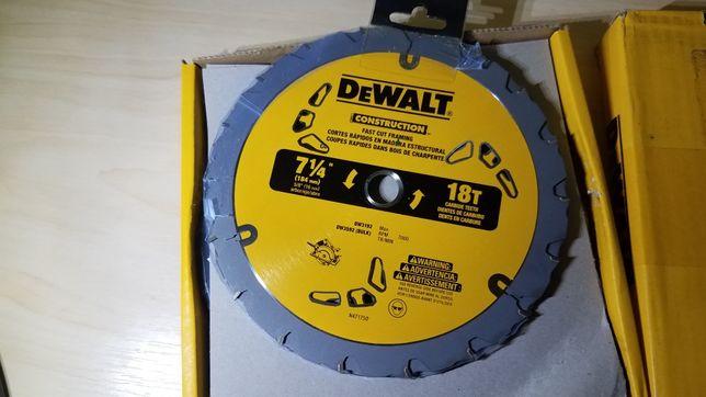 Пильный диск 18 зубов dw3192 dewalt 184 мм для dcs570, dcs575
