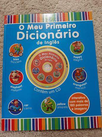 Primeiro dicionário inglês+cd