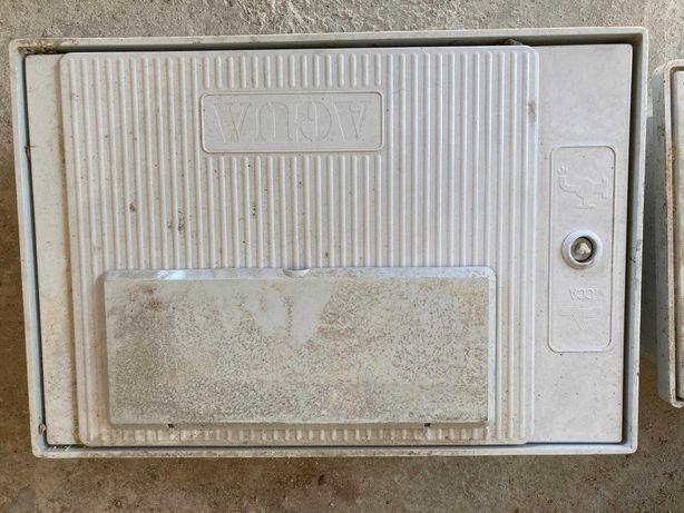 caixa para contador de agua