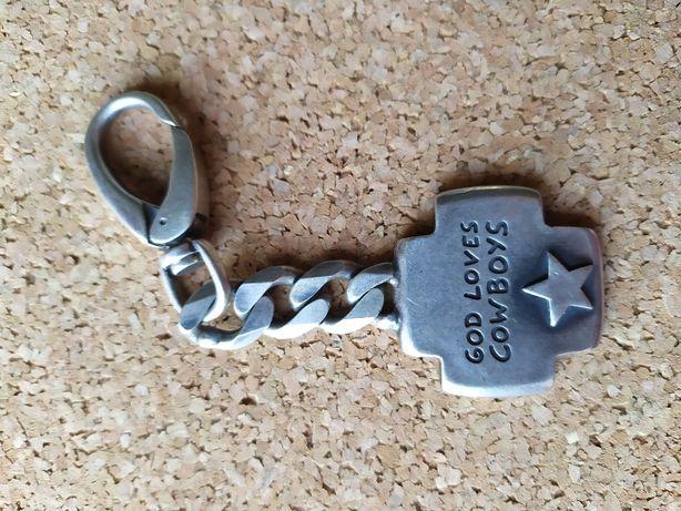 Porta chaves em prata