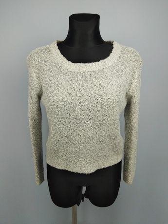 Szary sweter długi rękaw h&m 38/M