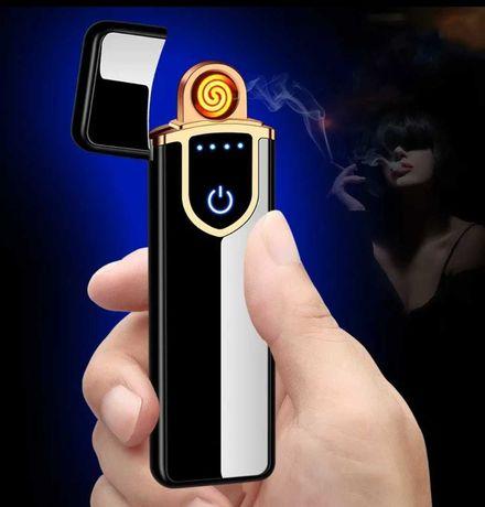 Zapalniczka plazmowa na dotyk. Ładowana przez USB