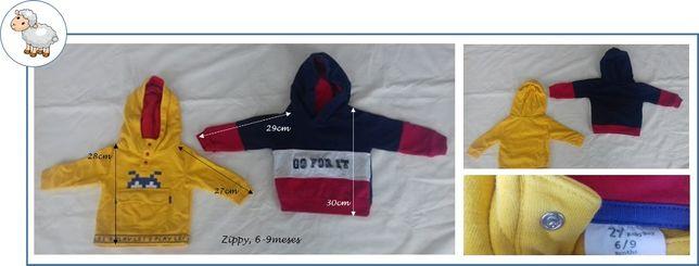 0-12Meses Menino Outono/Inverno - sweats, casacos, conjuntos