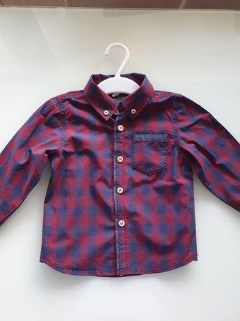 Name it super koszula chłopięca w kratę 86 cm!