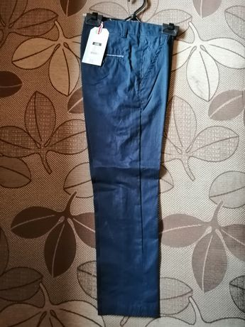 Nowe spodnie chłopięce eleganckie cool club Smyk 122