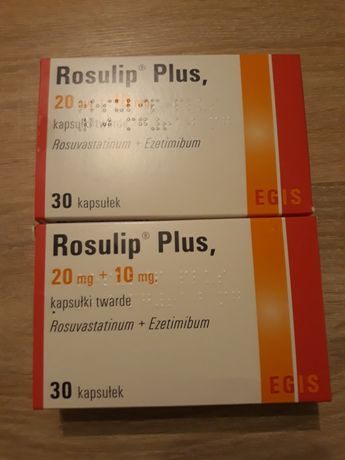 Rosulip Plus 20mg + 10 mg