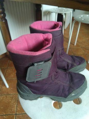 Buty zimowe śniegowce dla dziewczynki Quechua