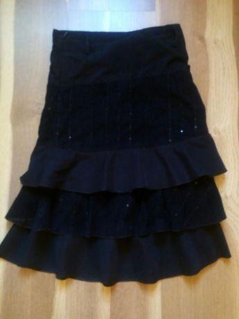 Нарядная черная юбка