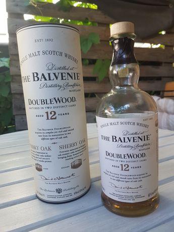 Butelka po whisky + kartonik