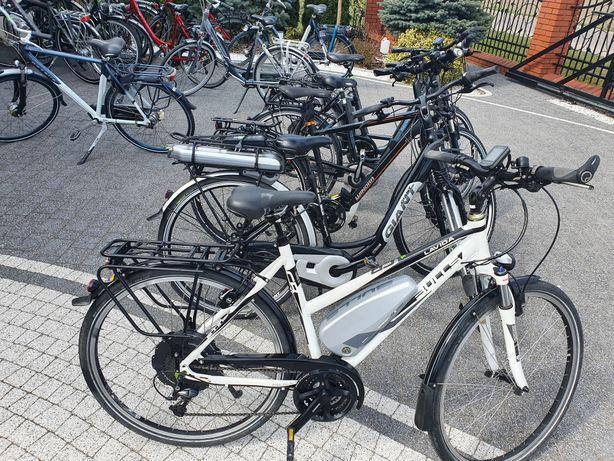 Rower elektryczny z Niemiec