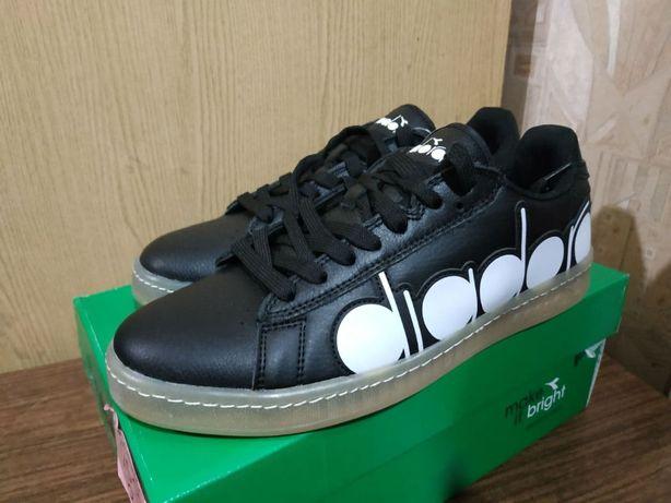 кожа Diadora game bolder 43 обувь кроссовки