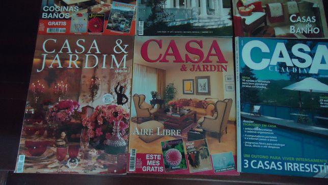 14 revistas Casa & Jardim e oferta do nº153 Casa Cláudia.
