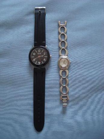 Dois relógios das marcas One e Swatch totalmente funcionais