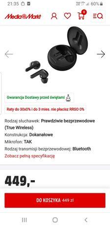Słuchawki LG Tone Free Fn4  czarne