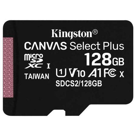 Карта Micro SD kingston Class 128 ГБ, карта памяти MicroSDHC