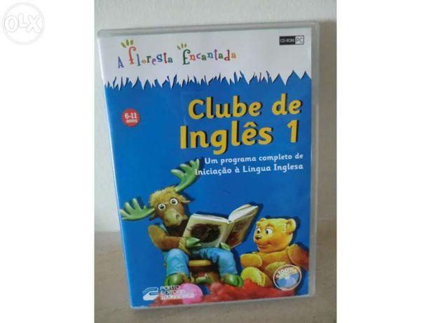 """Dvd interativo Clube de Inglês 1 """"A floresta encantada"""""""