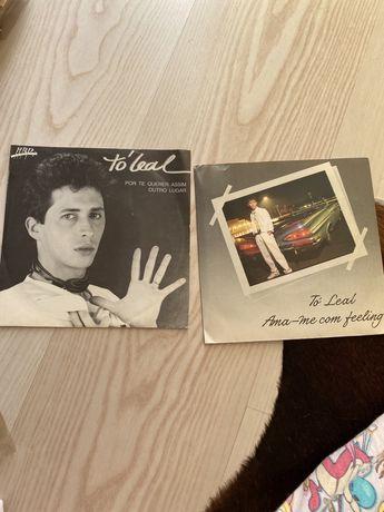 2 Singles de Tó Leal (Valor plo Conjunto)