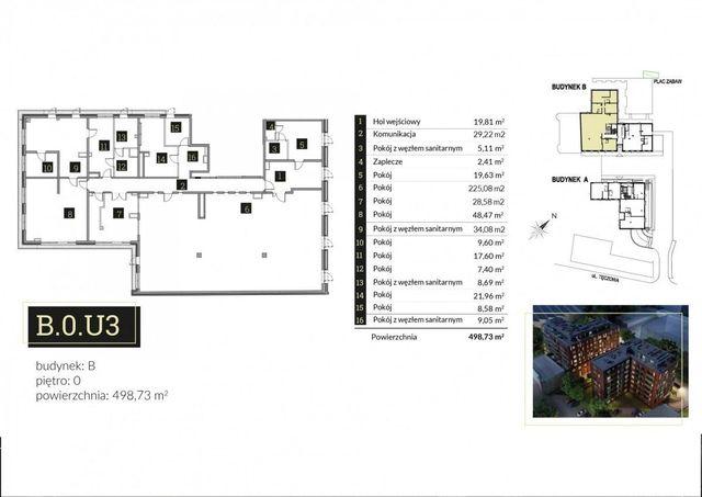 Lokal usługowy   budynek loftowy Premium   498m2