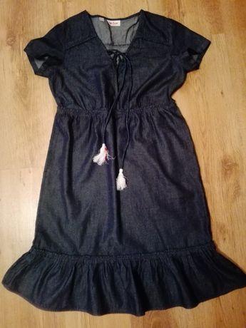 Nowa sukienka jeans/lyocell