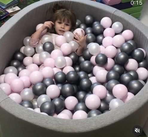 Сухой бассейн Maikinbaby с шариками 200 шт, все в наличии