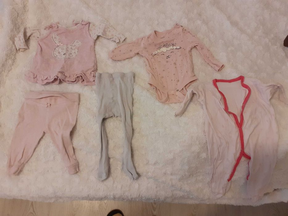 Ubranka niemowlęce dla dziewczynki rozm.62 Bydgoszcz - image 1