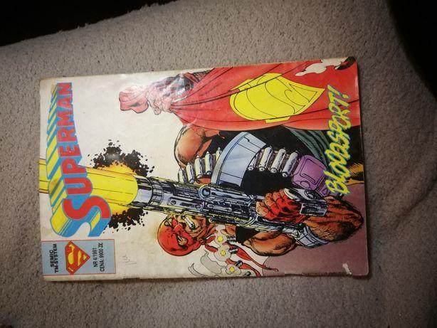 Superman komiksy