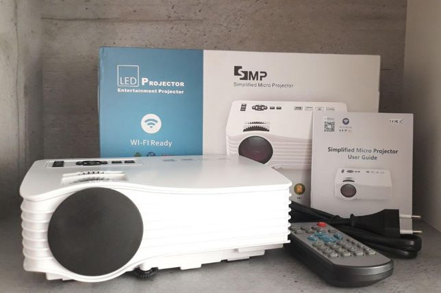 портативный Projector LED | переносной | C6 проектор | с динамиком и п