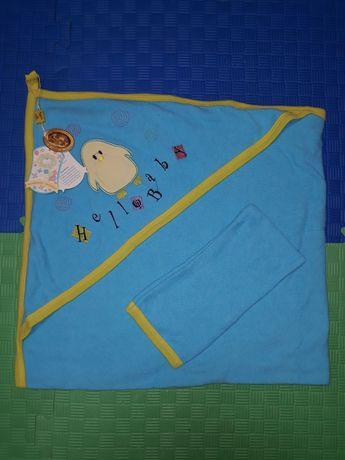 Полотенце уголок для малыша