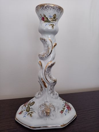 Porcelana Chodzież Iwona świecznik Vintage ponadczasowy