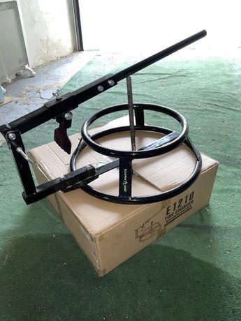 Máquina OFFPARTS para desmontar/montar pneus da jante enduro cross