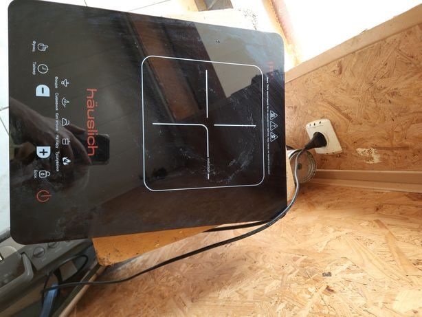 Плита электрическая черная