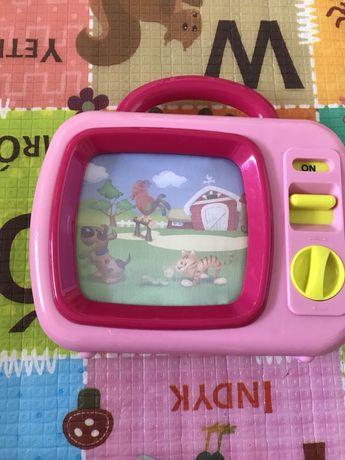 Telewizorek nakręcany dla dzieci