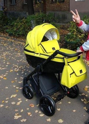 Детская универсальная коляска 2 в 1 Adamex Chantal+ подарок